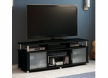 "South Shore City Life 59"" TV Stand in Pure Black - 4270677"