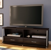 "South Shore City Life 60"" TV Stand in Chocolate - 4219662"