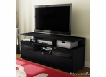 South Shore City Life II Black Oak TV Stand - 4147676