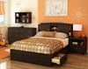 South Shore Clever Room 5PC Full Mates Bedroom Set - 3579093
