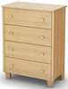 South Shore Clever Room Chest in Natural Maple - 3613034