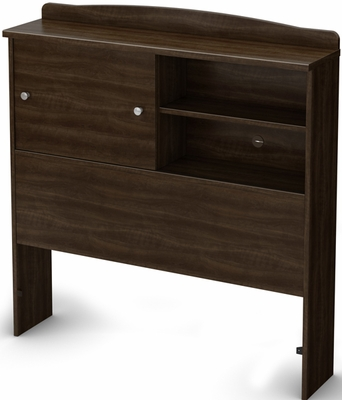 South Shore Clever Room Twin Bookcase Headboard - 3579098