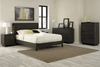 South Shore Flynn Full Platform Bedroom Set with 2 Nightstands in Gray Oak - 3237204