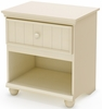 South Shore Hopedale 1 Drawer Nightstand in Ivory - 3711062
