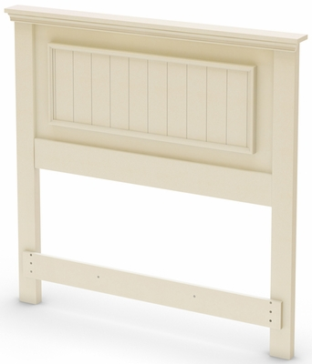 South Shore Hopedale Twin Headboard in Ivory - 3711088