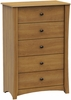 South Shore Jumper Transitional Chest in Harvest Maple - 3326035