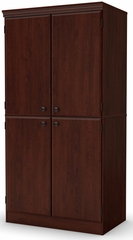 South Shore Morgan Royal Cherry Storage Cabinet - 7246971