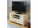 "South Shore Noble Traditional 48"" TV Stand in Ivory - 4311662"