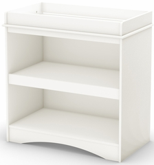 South Shore Peek-a-boo Changing Table in White - 2260334