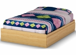 South Shore Popular Full Mates Bed - Natural Maple - 2713211
