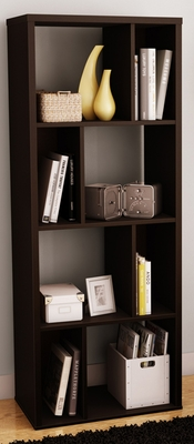 South Shore Reveal Chocolate Shelving Unit - 5159731