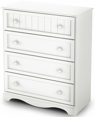South Shore Savannah Chest in Pure White - 3580034