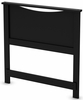 South Shore Step One Pure Black Twin Headboard - 3107089