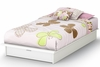 South Shore Step One Pure White Twin Platform Bed - 3160245