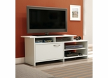 South Shore Step One TV Stand in Pure White - 3160661