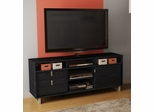 "South Shore Uber 61"" TV Stand in Black Oak - 4347678"
