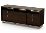 "South Shore Uber 61"" TV Stand in Mocha - 4379678"