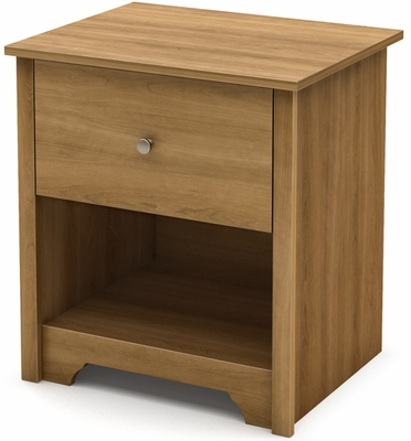 South Shore Vito Transitional Nightstand - Harvest Maple - 3126062