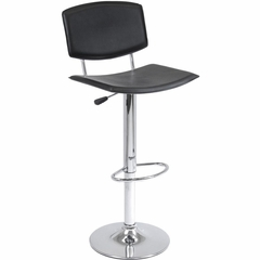 Spectrum Air Lift Stool in Black - Winsome Trading - 93140