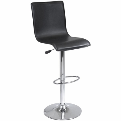 Spectrum High Back L Shape Air Lift Stool - Winsome Trading - 93145