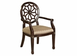 Spider Web Back Accent Chair - Powell Furniture - 235-620