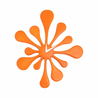 Splat Clock Orange - Lumisource