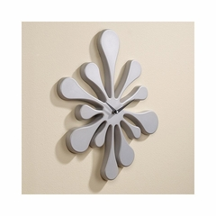 Splat Clock Silver - Lumisource