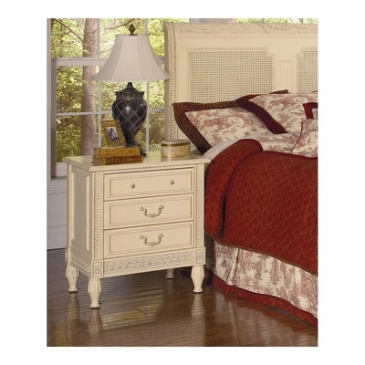 Splendor Nightstand Antique Parchment - Largo - LARGO-ST-B2500-40