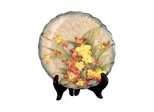 Spring Time Porcelain Plate - Dale Tiffany
