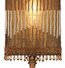 Square Beaded Accent Lamp - IMAX - 2969