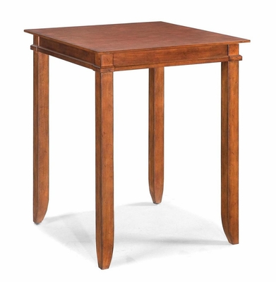 Square Bistro Table in Soft Mahogany - Jamaican Bay - 5535-35