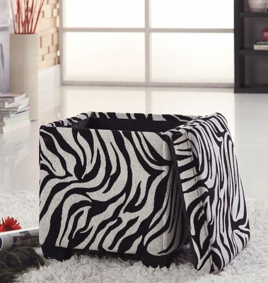 Square Fabric Storage Ottoman - 501087