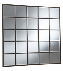 Square Grid Accent Mirror - 901741