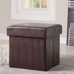 Square Shape Storage Ottoman - 500937