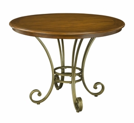 St. Ives Round Dining Table in Cinnamon - Home Styles - 5051-30