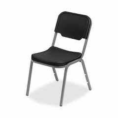 Stack Chair - Black 4 Count- ICE64011