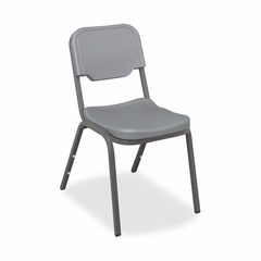 Stack Chair - Charcoal Gray 4 Count- ICE64017