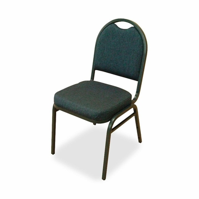 Stack Chairs - BBY/Black Fabric 4 Count- LLR62514