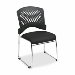 Stackable Chairs - Black 4 Count- LLR60543