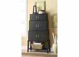 Stacked Cappuccino Accent Cabinet with Shelf - 950161