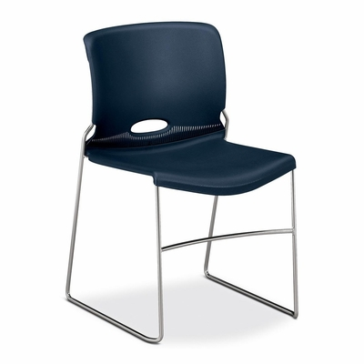 Stacker Chairs - Navy 4 Count- HON404191