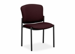 Stacking Armless Chairs - Wine - HON4073NT69T