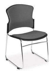 Stacking Chair - MultiUse Fabric Seat and Back Stacker (Set of 4) - OFM - 310-F-SET