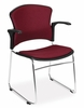 Stacking Chair - MultiUse Fabric Seat and Back Stacker (Set of 4) - OFM - 310-FA-SET