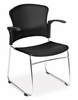 Stacking Chair - MultiUse Plastic Seat and Back Stacker (Set of 4) - OFM - 310-PA-SET