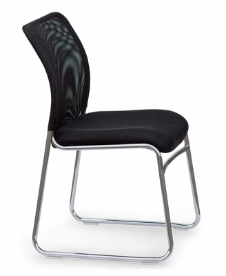 Stacking Chair (Set of 4) - Kay 155 Airknit Chrome Stacking Chair - Standard Systems Seating - 9009