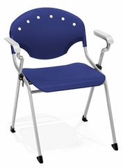 Stacking Chair - Stack Chair with Arms (Set of 4) - OFM - 306-SET