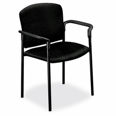 Stacking Chair w/Arms - Black 2 Count- HON4071NT10T