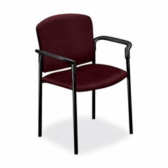 Stacking Chair w/Arms - Wine 2 Count- HON4071NT69T