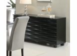 Stanton Server in Rich Black - Coaster - 102065